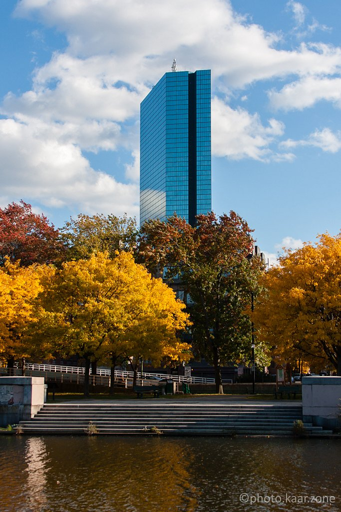 Charles River in Fall