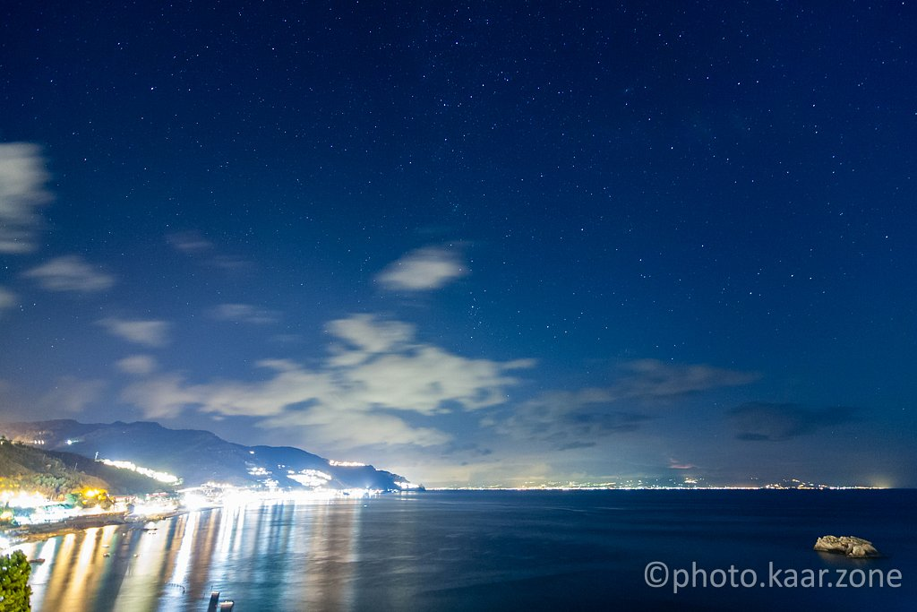 Starry Night / Sicily / Calabria