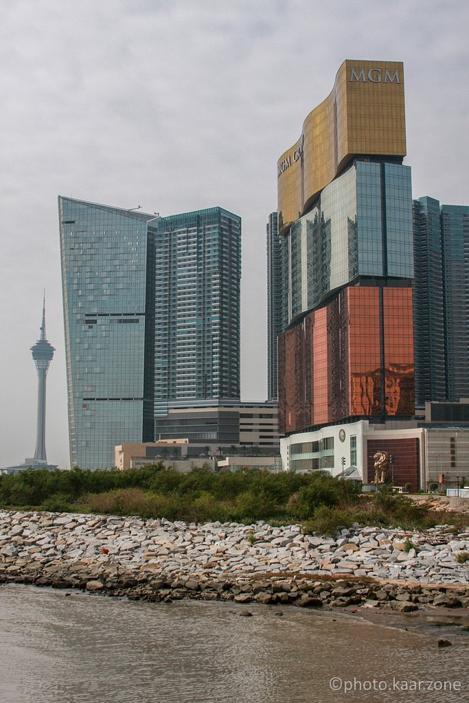 MGM Grand, Mandarin Oriental and Macau Tower
