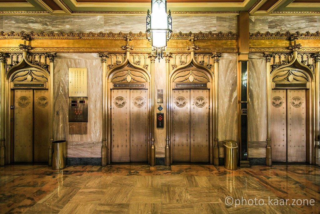 Elevators at Atlanta City Hall